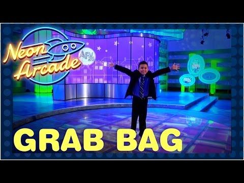 Evan visits afv america s funniest home videos neon arcade