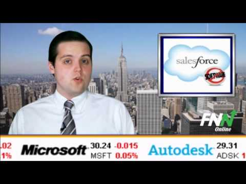 Salesforce Stock Falling on Dismal Q3 Outlook