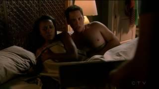 Matt McGorry (kiss scene #3) / Aja Naomi King/Michaela Pratt  …
