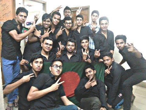 ICC World Twenty 20 Bangladesh 2014, Flash Mob - Cambrian College Hostel (3)