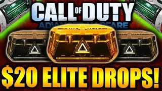 the search for the ak47 cod aw advanced supply drop opening 3