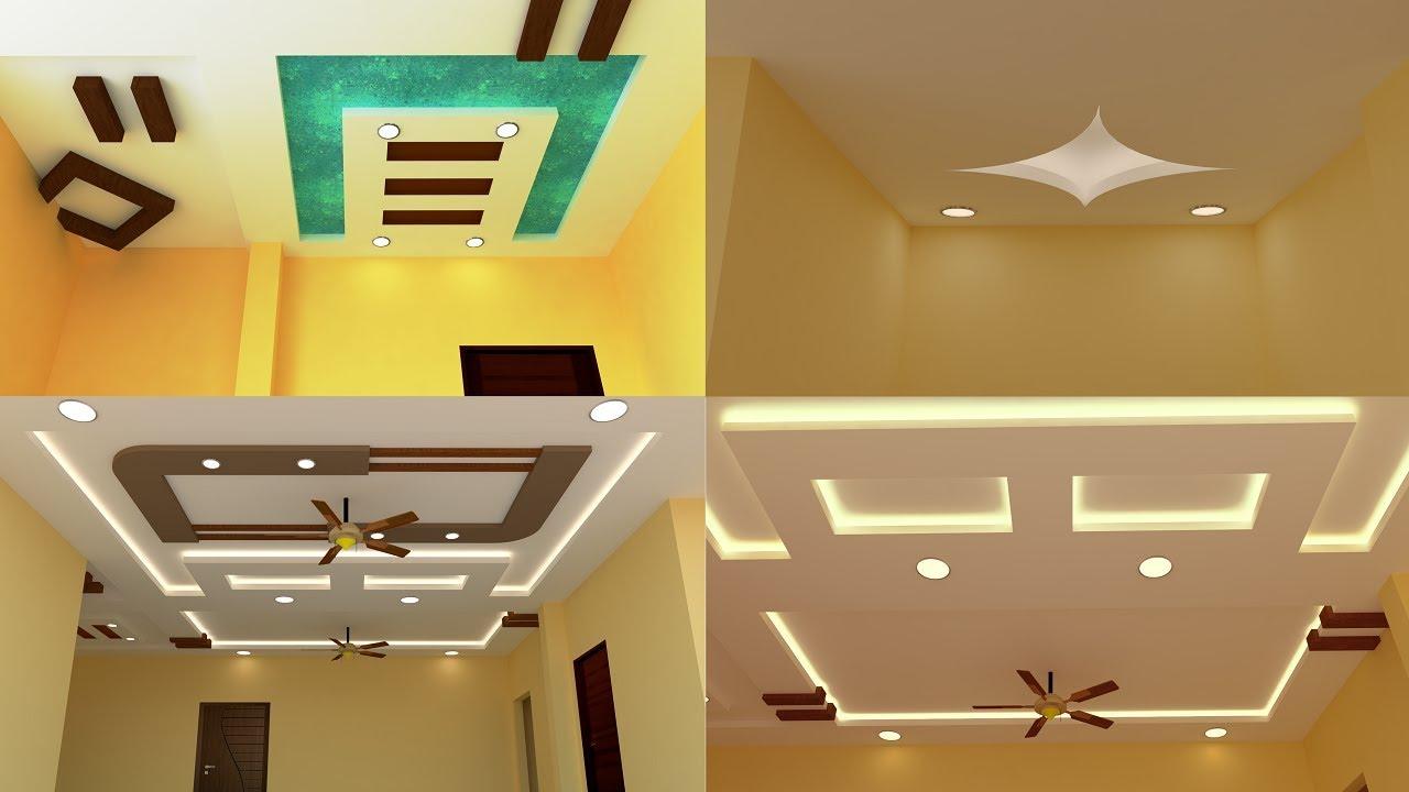 False Ceiling Interior Designing Models Price Gypsum View