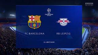 Fc barcelona v rb leipzig | 2019-20 ...