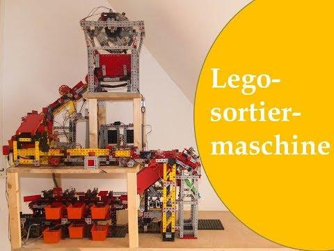 Lego Sortiermaschine