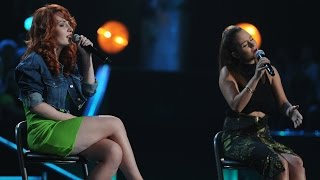 "The Voice of Poland VI - Joanna Reczyńska vs. Anna Kłys - ""Diamonds"" - Bitwy"