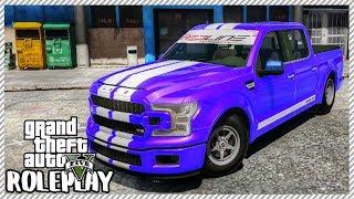 GTA 5 ROLEPLAY - My New Custom Shelby F-150 Drag Truck | Ep. 386 Civ