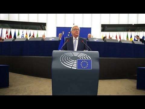 "Juncker\'s State of the EU: ""The wind is back in Europe\'s sails"""