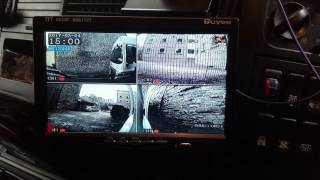 4 Channel DVR recording system with monitor - MAN TGX Rigid
