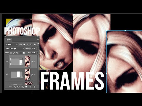 Photoshop tutorial : Frame Tool thumbnail