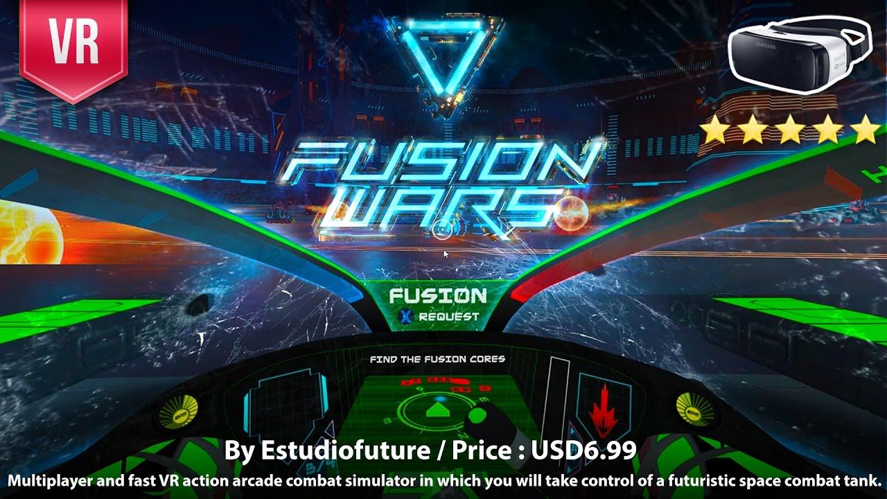 Fusion Wars Gear VR - VR action arcade combat simulator of a futuristic  space combat tank