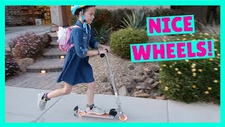 Addy Gets the NEW Razor Spark Ultra Scooter !!!