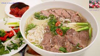 PHỞ BÒ Instant Pot - Bí quyết nấu Phở thơm ngon như Tiệm, nhanh tiết kiệm Điện by Vanh Khuyen