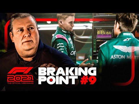 F1 2021 BRAKING POINT #9: ENDLICH ALLES GEKLÄRT BEI ASTON MARTIN!?? 🤝 (Deutsch/German)