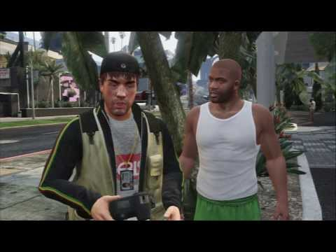 "Grand Theft Auto V - Reality Check: Franklin Kills Beverly Felton ""Home Mee"" ""What About My Money?"""