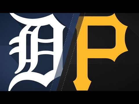 Tigers vs Pirates Highlights | 4/25/18