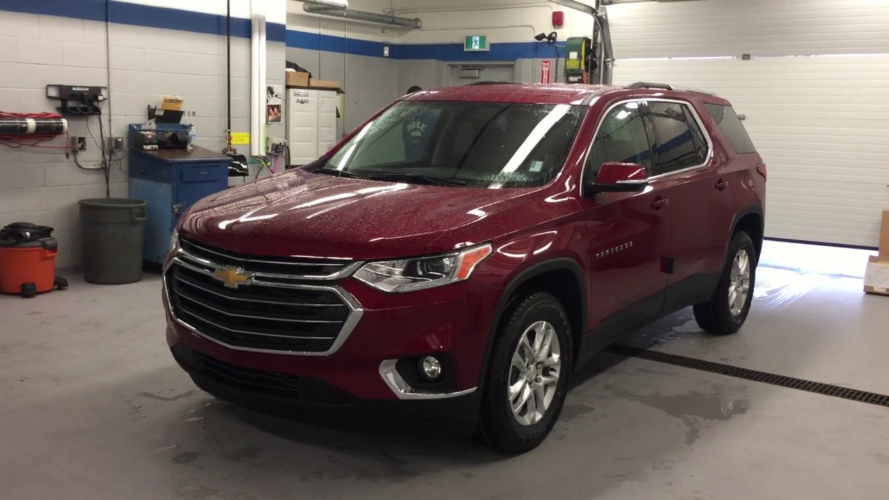 2018 chevrolet traverse lt cajun red tintcoat roy nichols for Roy motors used cars