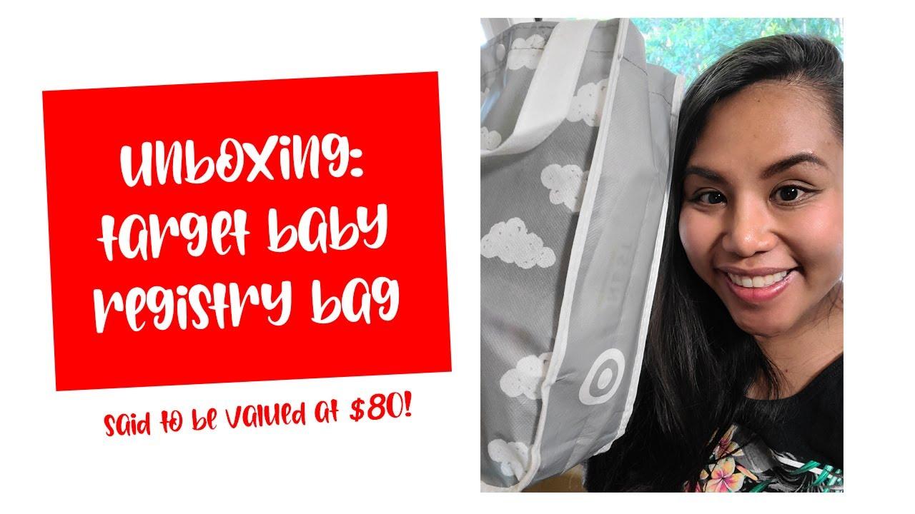 FREE Target Baby Registry Bag - YouTube