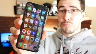 Неделя с iPhone XS MAX, Глючит?