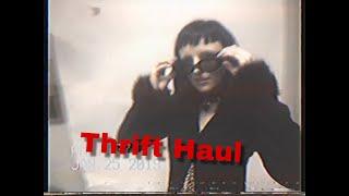 Thrift Haul! I thrift a Louis Vuitton Backpack?