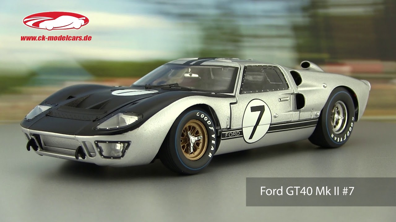 Ford GT40 Mk II #7 24h LeMans 1966 Hill Muir 1:18 ShelbyCollectibles