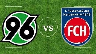 Hannover 96 vs. 1. fc heidenheim [was ...