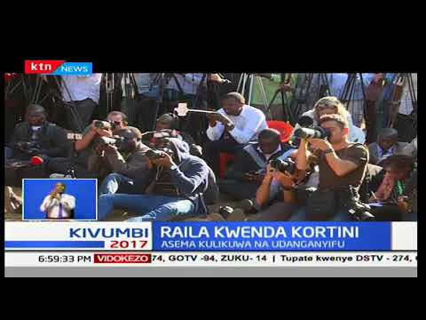 Raila Odinga adai Jubilee ilishirikiana na IEBC kumpokonya ushindi wake