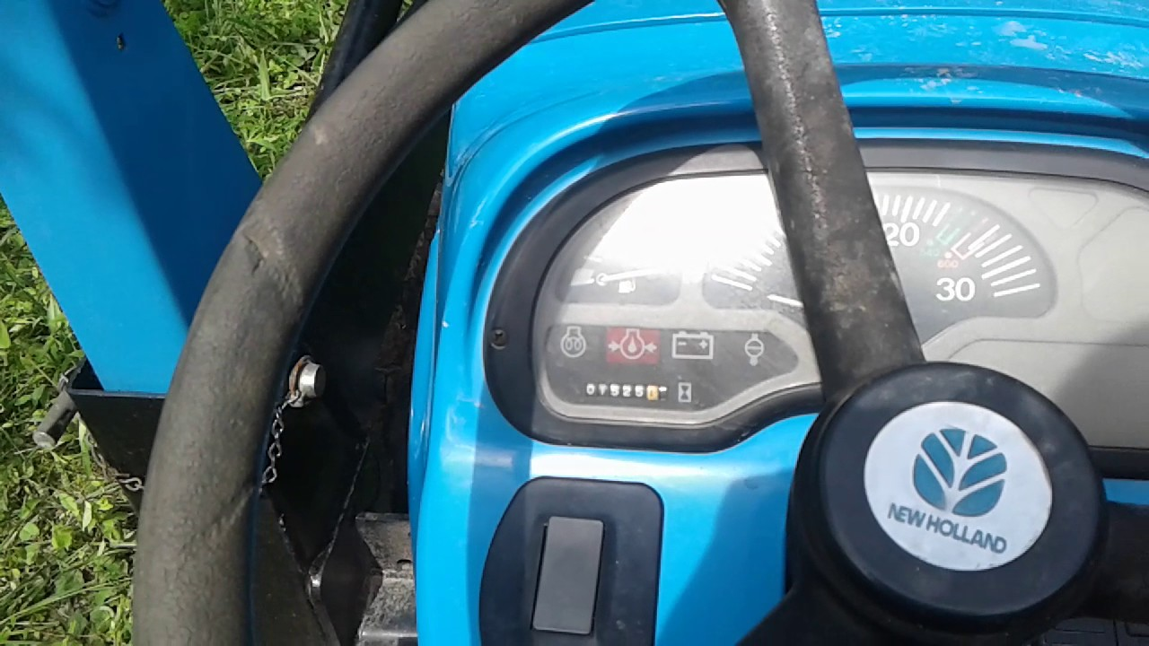small resolution of fuse location on new holland tc25 youtube t1510 new holland wiring schematic