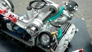 Targa Twin Lambretta Engine