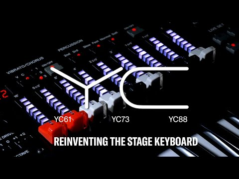 Yamaha YC Stage Keyboard Series |  Overview