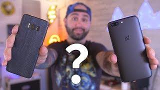 OnePlus 5 vs Galaxy S8 – Camera Comparison!