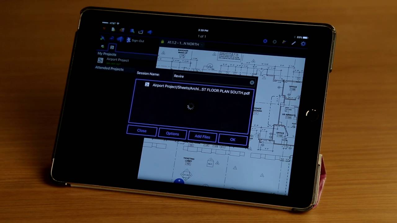 Bluebeam Revu iPad: Studio Sessions
