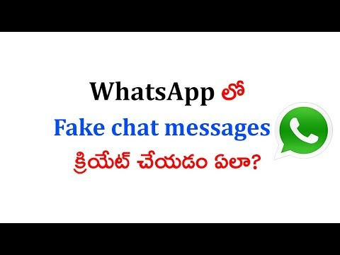 fake chat for whatsapp how to create fake conversation with