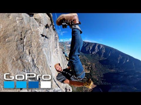 GoPro Awards: Rappelling Down El Capitan Yosemite in 4K