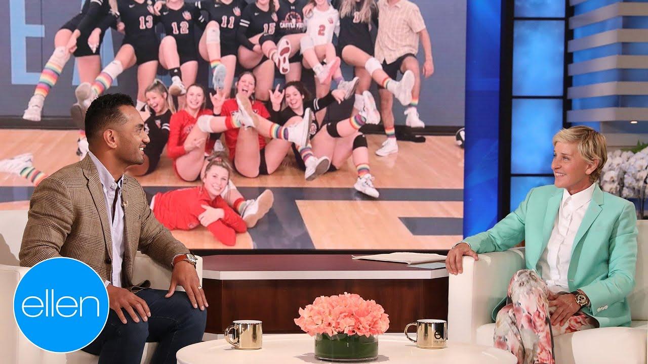 Ellen Meets Exceptional High School Volleyball Coach