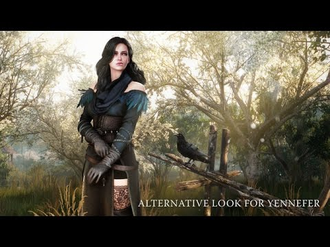 The Witcher 3 Yennefer Alternate Outfit DLC
