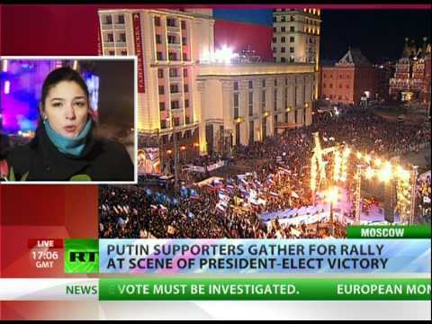 Thousands occupy Moscow in post-vote showdown