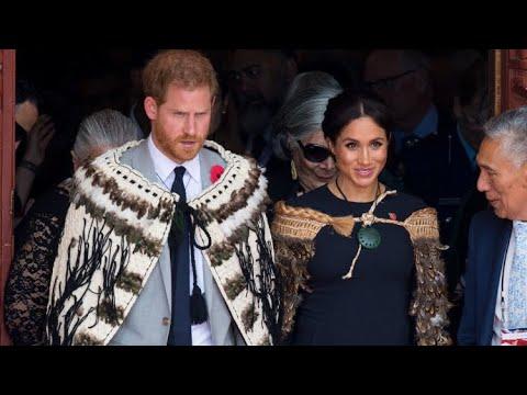 Duke & Duchess Of Sussex Rotorua FINAL DAY Royal Visit New Zealand 2018