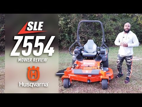 Model # 967669601 Husqvarna Z554 Zero Turn Mower 54