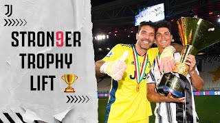 TROPHY LIFT | Juventus Celebrate Winning 9th-Straight Scudetto | #Stron9er