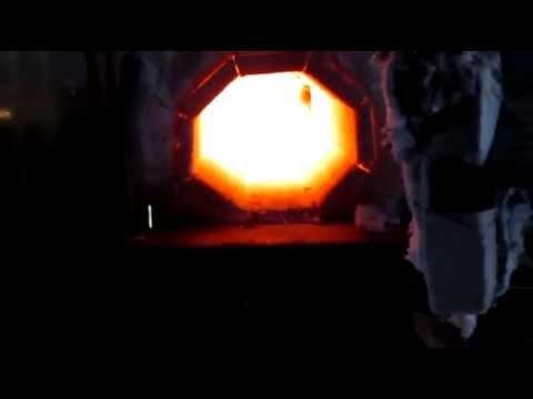 Мой самодельный пропановый кузнечный горн ver-4  My homemade propane forge ver-4