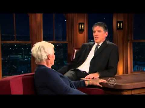 Late Late Show with Craig Ferguson 12/18/2009 Judi Dench, Michelle Rodriguez