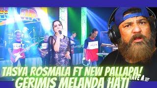 Tasya Rosmala ft New Pallapa - Gerimis Melanda Hati (Official Live Music) Budda Slims Reaction