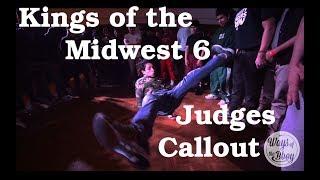 Kings of the Midwest 6 - Sędziowie