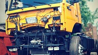 Превращение из тягача в шасси под сортиментовоз на базе 6520 КАМАЗ
