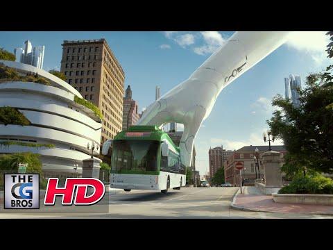 """CGI 3D/VFX Spot: """"Bring Life Forward"""" - by Roof Studio…"""
