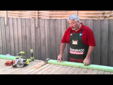 How To Build A Gate - DIY At Bunnings