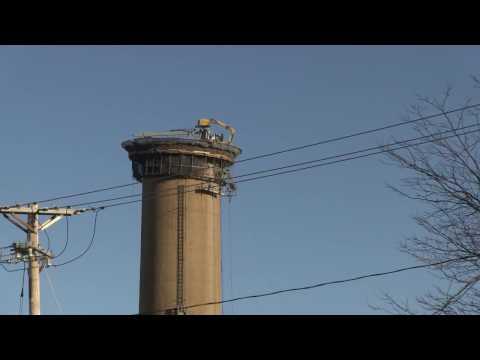 Mantis at Salem Power Plant - Stack 4
