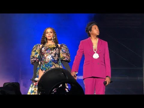 Beyoncé and Jay-Z - Holy Grail (Intro) Global Citizens Festi