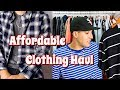 AFFORDABLE CLOTHING HAUL - BASIC STREETWEAR AT A FAIR PRICE