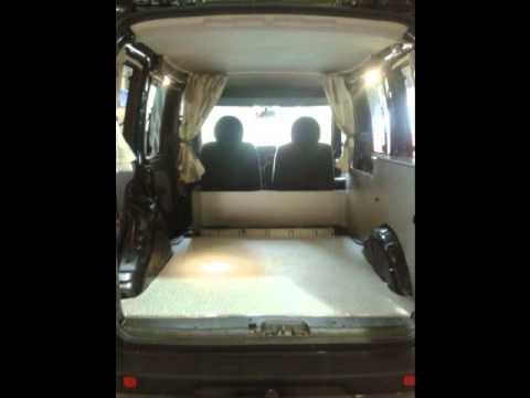 Minivan Camper Conversion >> Fiat Doblo Camper van Conversion by Creation Campers - YouTube